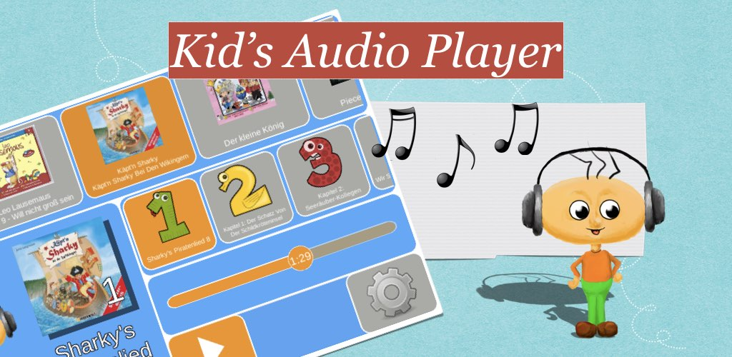 Kinder-Audio-Player